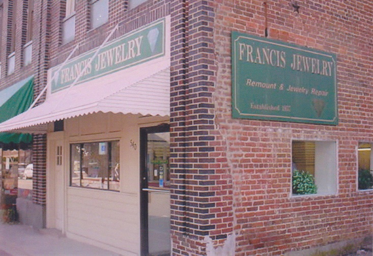 Francis Jewelry Storefront